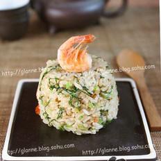 虾味青菜炒饭