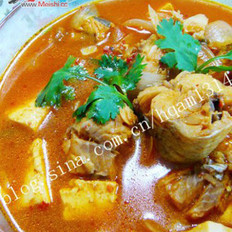 韩式鳕鱼炖豆腐