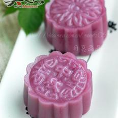 紫薯南瓜冰皮月餅