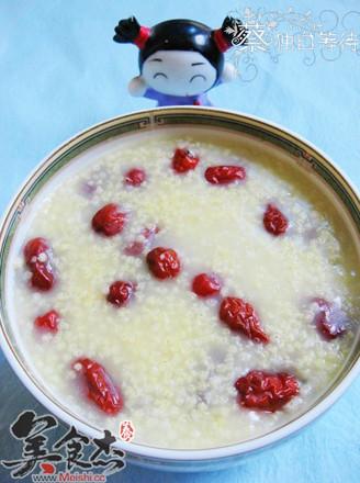 小米红枣粥的做法