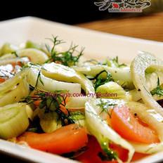 回乡—茴香番茄沙拉的做法