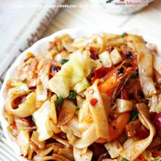 辣味鲜虾炒河粉