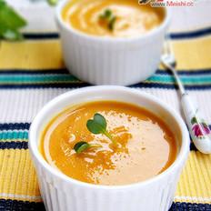 蔬菜南瓜浓汤
