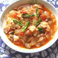 西红柿炒洋葱