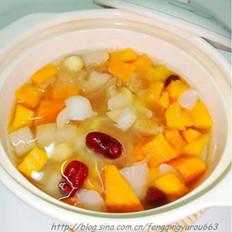 百合木瓜汤