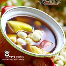 莲子桃子番茄汤