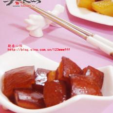 五花肉炖白萝卜