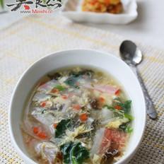 滑蛋紫菜汤