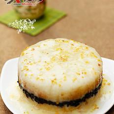 桂花雙色糯米飯