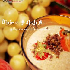 椰奶绿豆沙