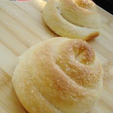椰絲白糖小面包