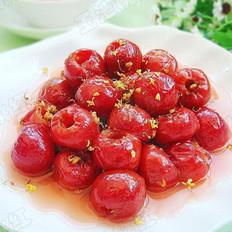 桂花炒红果