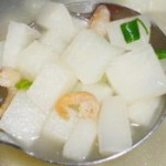 虾米沙葛汤