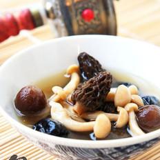 羊肚菌玉菇汤