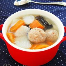 時蔬肉丸湯