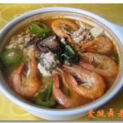 苦瓜豆腐鲜虾煲