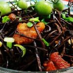 干蕨菜焖肉