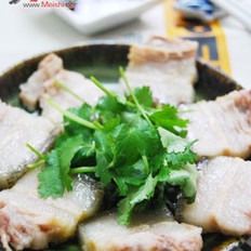 盐水煮白肉的做法