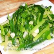 清炒水芹菜