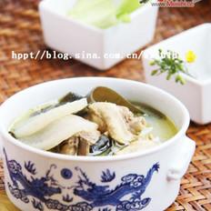 酸萝卜海带老鸭汤