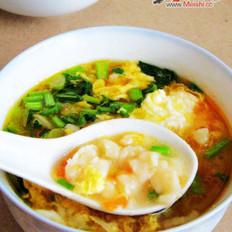 新手学做菜:西红柿疙瘩汤