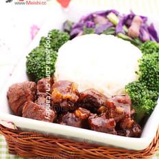 醬燒牛肉飯