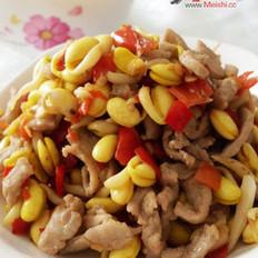 泡椒黄豆芽炒肉丝
