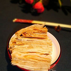 芝麻酱千层饼