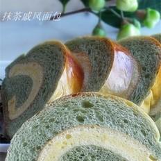 抹茶戚风面包