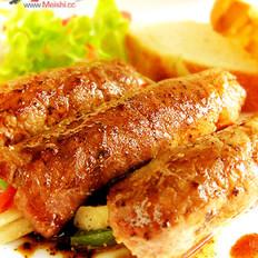红酒汁牛肉卷