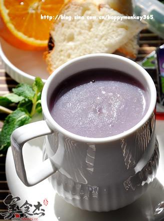 紫薯燕麦粥的做法