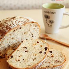 黄糖核桃面包