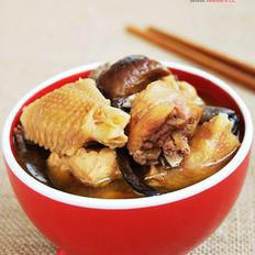 柴鸡炖蘑菇
