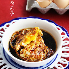 酱油荷包蛋