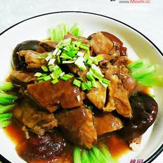 菊花鲍汁羊腩煲