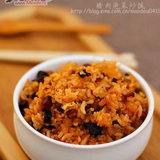 腊肉泡菜炒饭
