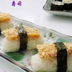 手握雞排壽司