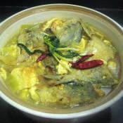 咖喱豆腐鲳鱼煲