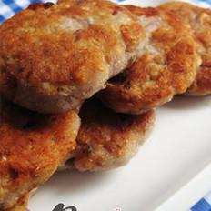 香芋鲮鱼饼