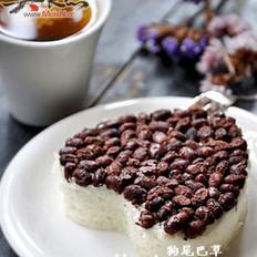 蜜红豆蒸糕