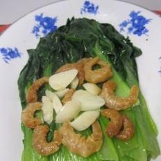 蒜香海米油菜