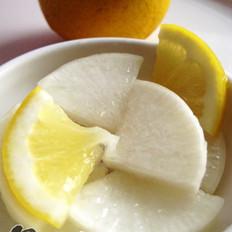 柠檬泡萝卜