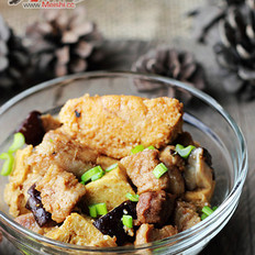 家常鱼籽烧豆腐