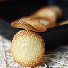 蛋白芝麻脆餅