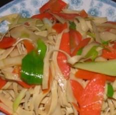 胡萝卜干豆腐丝