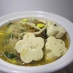 豆腐鸭骨粉丝汤