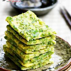 柳芽玉米饼