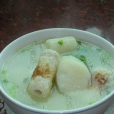 淮山竹轮猪骨汤