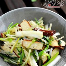 水芹菜炒香干