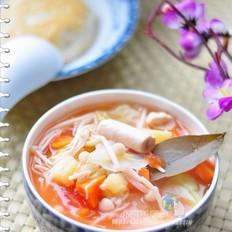 牛髓鲜蔬汤